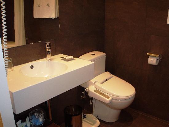Hotel Montecarlo Barcelona : bagno