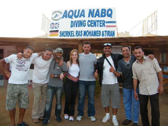 Aqua Nabq Dive Center: The Team
