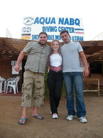 Aqua Nabq Dive Center: Snorkel and diving guides