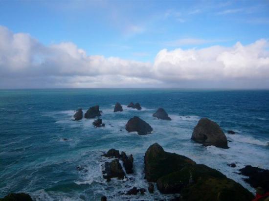 Wanaka, New Zealand: Nugget Point