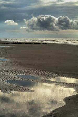 Folly Beach Public Beach: Ocean Reflections - The ocean is so wonderful... with so many emotions.