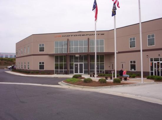 Front Entrance Of Lowe 39 S Motor Speedway In Charlotte: charlotte motor speedway hotels nearby