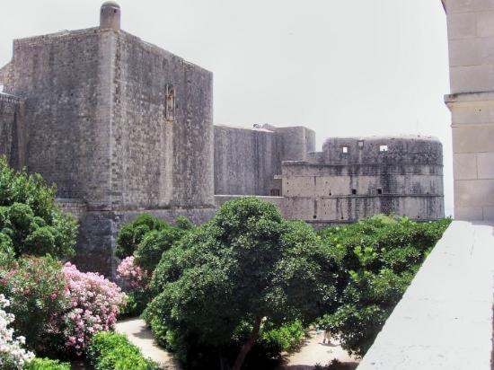 """Old Town: The """"moat"""" going into Old Dubrovnik"""