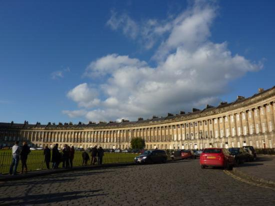 Royal Crescent: Remember this from The Duchess?
