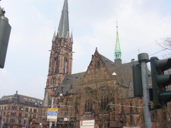 Saarbrücken, Deutschland: St. Johann's Cathedral