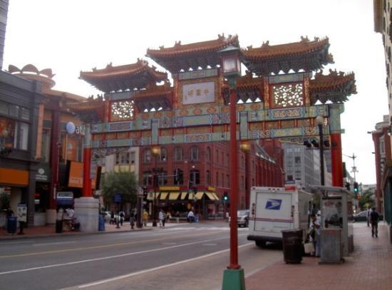 Chinatown Archway: L'entree de Chinatown.