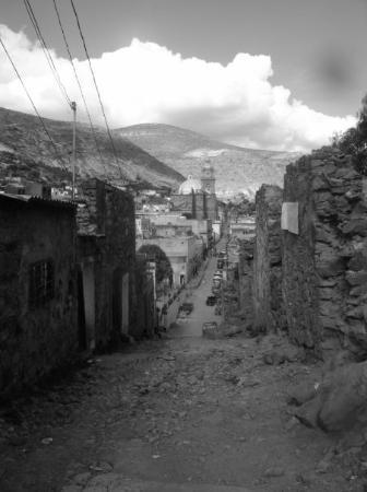 Real de Catorce, Mexico: I have developed lungs of steel after walking up and down these roads. I have decided to quit sm