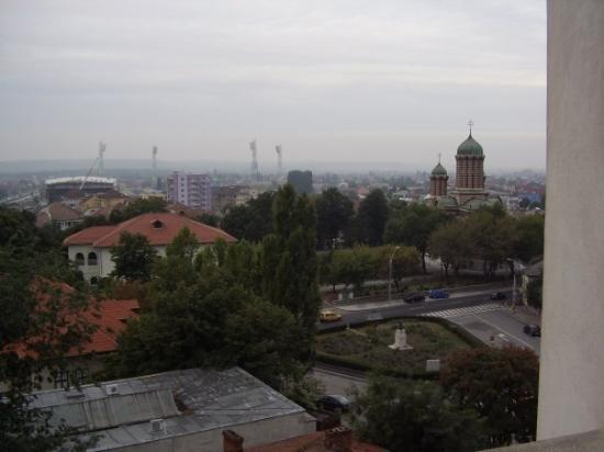 Craiova, Romania: View From Balcony