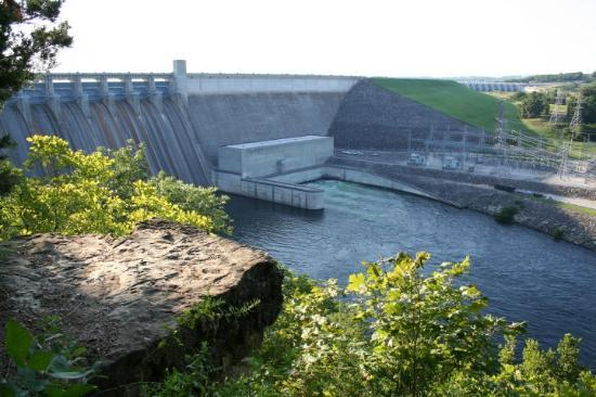 Branson, MO: Table Rock Lake dam