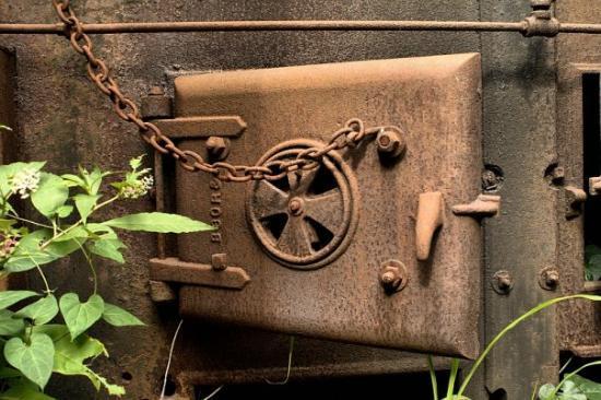 Nashville TN Boiler Door - This is the door to one of the original & Boiler Door - This is the door to one of the original boilers that ...