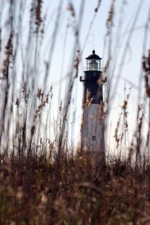 Tybee Island Lighthouse Museum: North Beach Lighthouse on Tybee Island, GA.