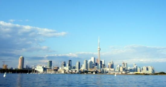 Harbourfront Centre: view from the boat ride