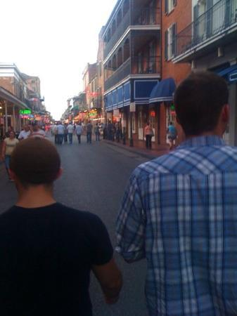 Bourbon Street: sean and amero in new orleans