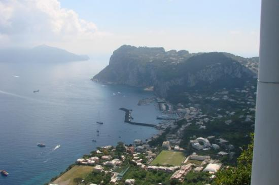 Villa San Michele: Isle of Capri -Taken from the veranda of San Michele