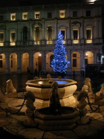 Bergamo, Italia: Christmas tree