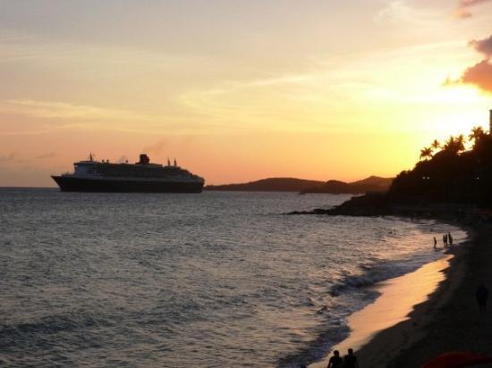 Charlotte Amalie, St. Thomas: View From Havana Blue...