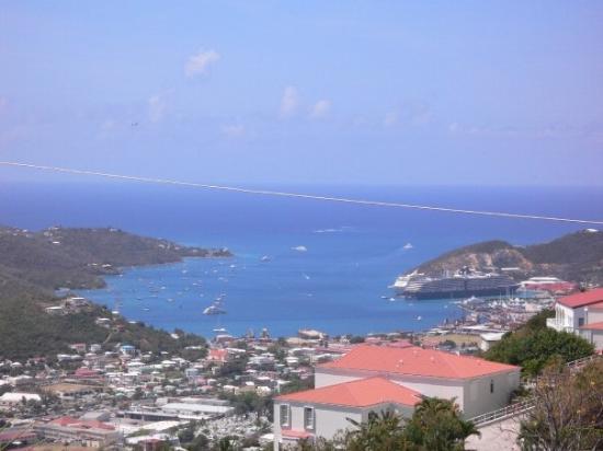 Charlotte Amalie, St. Thomas: View From My Balcony...
