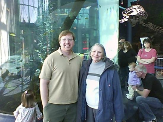 Ripley's Aquarium of the Smokies: my uncle doug and grammy