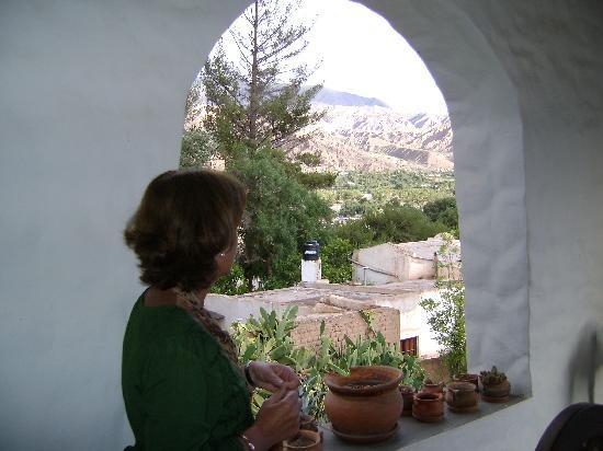 Posada de la Pena: vista desde la galeria