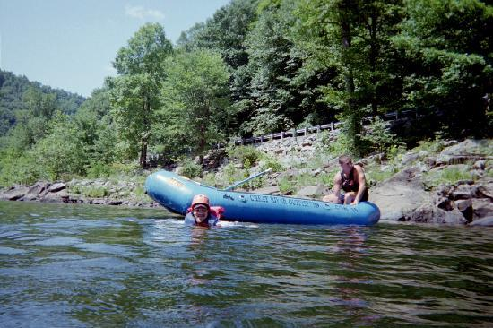 Cheat River Outfitters: Taking a break from rafting