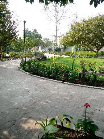 Agrawal Paying Guest House: Beautiful, restful gardens