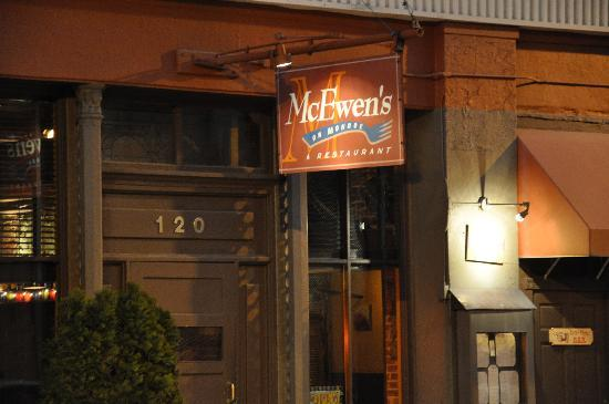 McEwen's On Monroe: Night Building