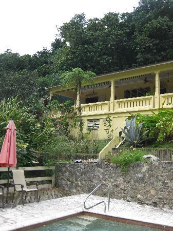 Casa Grande Mountain Retreat: Photo from the pool