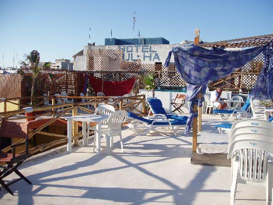Hotel Las Palmas: rooftop deck
