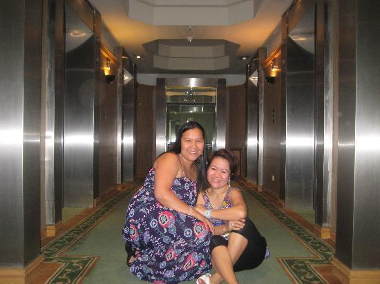 Baiyoke Sky Hotel: 30th floor fronting the elevator