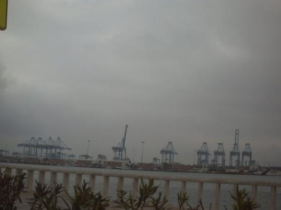 Algeciras, Spain: por la mñna