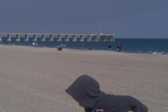 The pier at Wrightsville Beach  3/9/2010