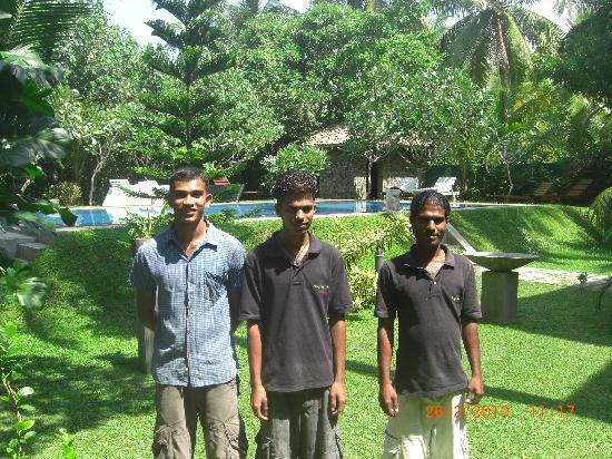 Shangri-Lanka Villa: Sanka, Dhanushka & Chaminda