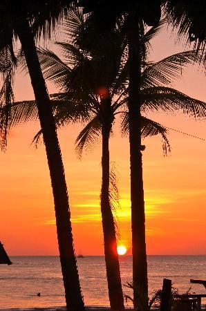 Sandy Beach Resort: view from our hut at SandyBeachResort