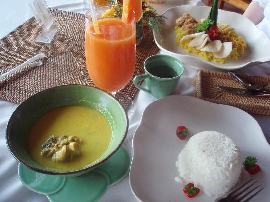 Tegalalang Rice Terrace: おいしかった