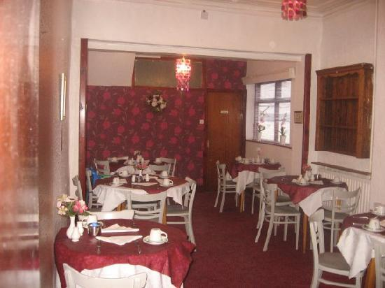 The Withnell Hotel: breakfast dining room