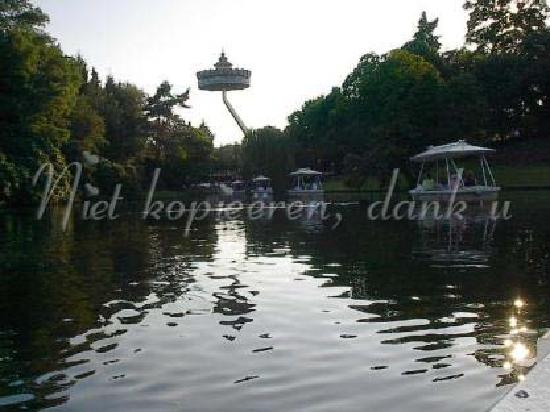 Efteling : panorama from the boat