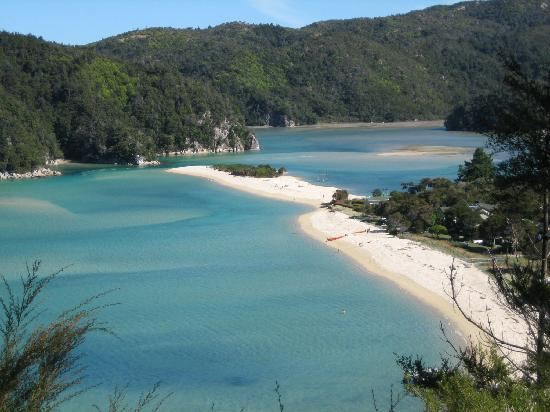 Kimeret Place: Beach in Abel Tasman