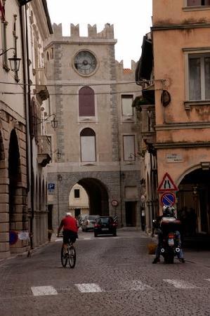 Porta dell'orologio a Vittorio Veneto