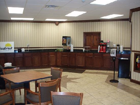 Days Inn Columbus - North Fort Benning - Airport: New Breakfast Area