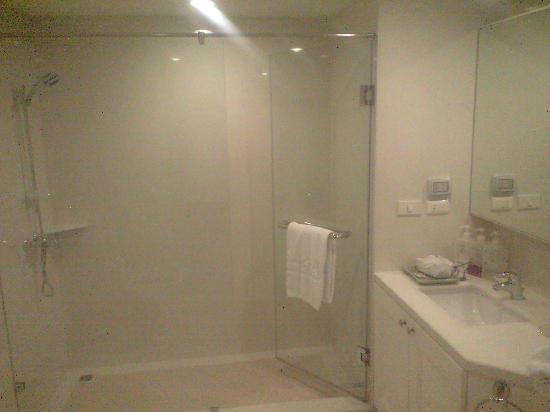 Centre Point Hotel Silom: 独立型シャワーブースですね