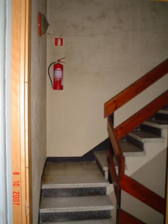 Hotel Europa: Escaleras hotel