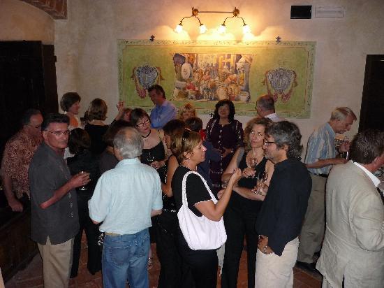 Villa Campestri Olive Oil Resort: il brindisi prima del convegno
