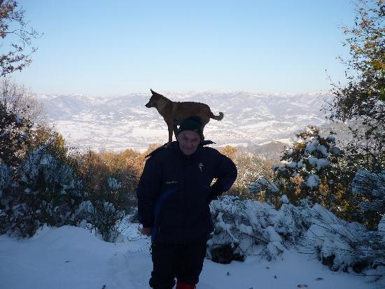 Villa Campestri Olive Oil Resort: da Campestri con la neve...