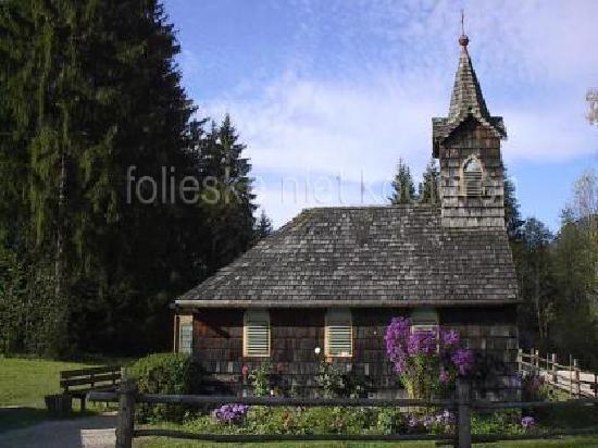 Salzburger Freilichtmuseum: wooden chapel