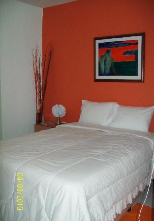 Hostal Hikari: dormitorio