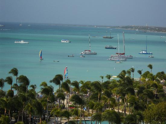 Hotel Riu Palace Aruba: Ocean view from our balcony
