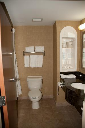 Holiday Inn Express Hotel & Suites Freeport: Clean, spotless, roomy, with all complimentary products