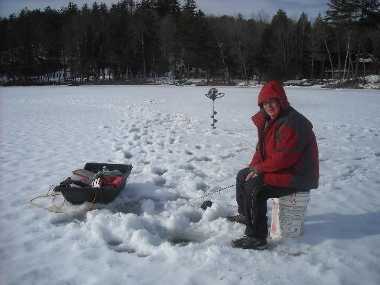 Ridin-Hy Ranch Resort: ICE FISHING
