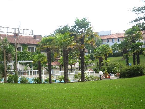 Novotel Resort & Spa Biarritz Anglet : le parc
