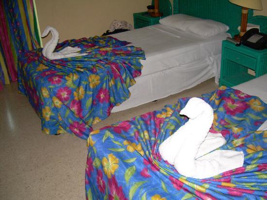 Hotel Los Delfines: Room.